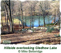 Hillside overlooking Gledhow Lake