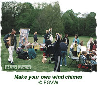 Make your own wind chimes