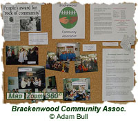 Brackenwood Community Association display