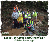 Leeds Tax Office Staff Action Day