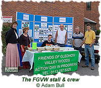The FGVW stall and crew