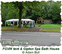 FGVW tent and Gipton Spa Bath House