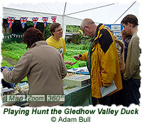 Playing Hunt the Gledhow Valley Duck