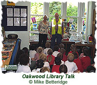 Oakwood Library talks