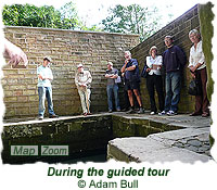 During the guided tour