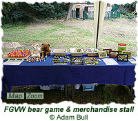 FGVW bear game & merchandise stall