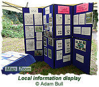 Local information display
