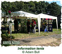 Information tents