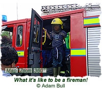 What it is like to be a fireman!