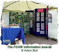 The FGVW information boards