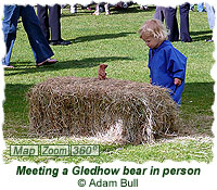 Meeting a Gledhow bear in person