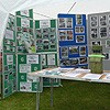 Friends of Gledhow Valley Woods information display
