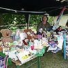 Wooden Tree gift stall