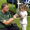 Meeting birds of prey with Talon Falconry