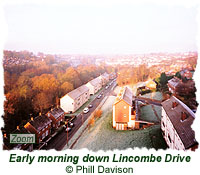 Early morning down Lincombe Drive
