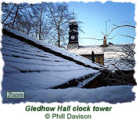Gledhow Hall clock tower